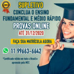 Supletivo ensino fundamental SP